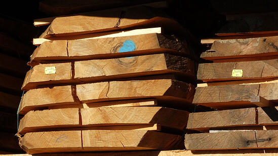 stacked-logs-sawn-into-dimensional-lumber